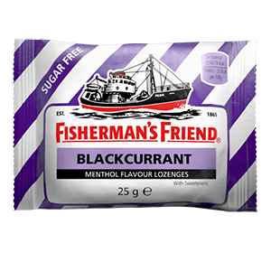 Image for Fisherman's Friend Blackcurrant Flavour 25g
