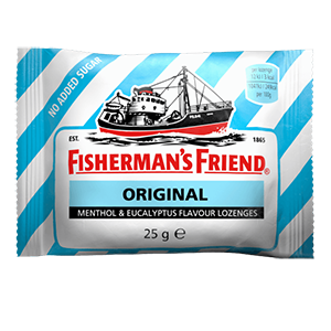 Image for Fisherman's Friend Menthol & Eucalyptus Flavour No Added Sugar 25g