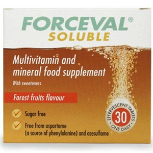 Image for Forceval Soluble 30 Tablets