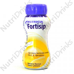 nutricia fortisip high energy bannana flavour