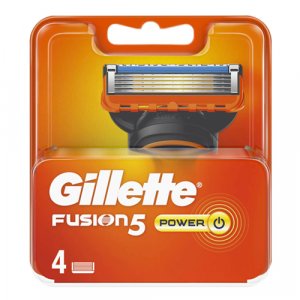 Gillette Fusion 5 Power Blades Refill - 4 Pack