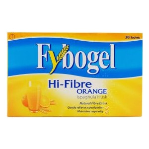 Image for Fybogel Hi Fibre - Orange Flavour 30 Sachets