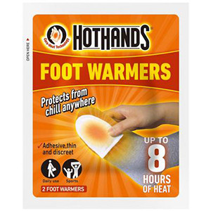 Image for Hot Hands Foot Warmers Twin Pack