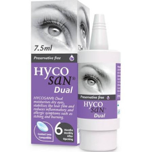 Hycosan Dual Eye Drops - 7.5ml