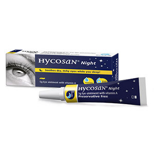 Image for Hycosan Night Eye Ointment 5g