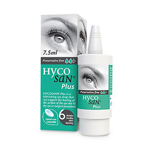 Image for Hycosan Plus Eye Drops 7.5ml