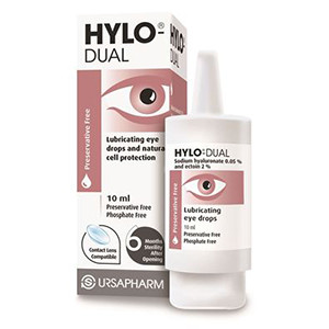 Image for Hylo-Dual Lubricating Eye Drops 10ml