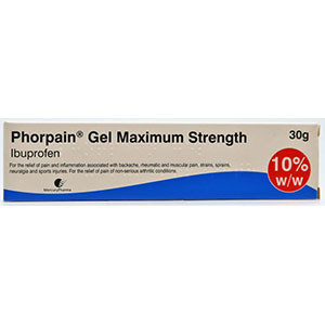 Image for Ibuprofen Gel 10% 30g (Ibuleve Substitute)
