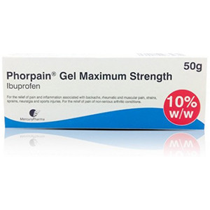 Image for Ibuprofen Gel 10% 50g (Ibuleve Substitute)