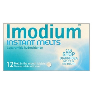 Image for Imodium Instant Melts - 12 Tablets