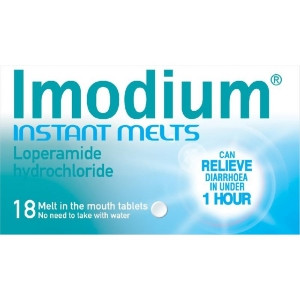 Image for Imodium Instant Melts - 18 Tablets