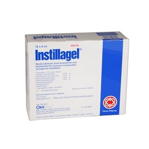 Image for Instillagel Sterile Lubricant 10 x 6ml