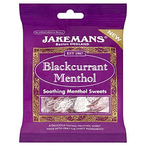 Image for Jakemans Blackcurrant & Menthol Sweets