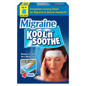 Image for Kool'Soothe Migraine Soft Gel 4 Sheets