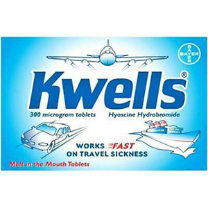 Image for Kwells Travel Sickness 12 Tablets