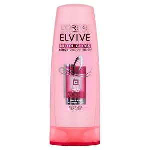 L'Oréal Paris Elvive Nutri-Gloss Shine Conditioner - Pack of 250ml