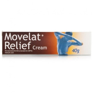 Image for Movelat Relief Cream 40g
