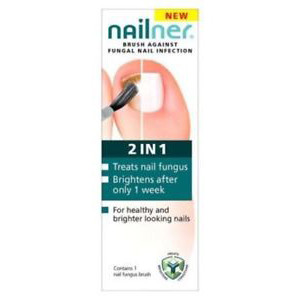 Image for Nailner 2 in 1 Fungal Nail Treatment Brush