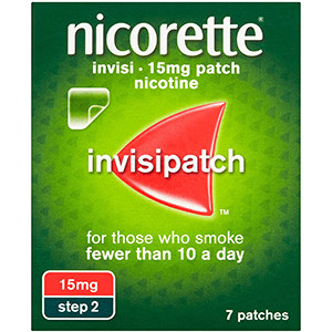 Image for Nicorette invisi 15mg Patch 7 Patches