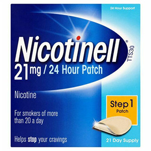 Image for Nicotinell 21mg/24 Hour Step 1 Patch 21 Day Supply