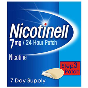 Image for Nicotinell 7mg Step 3 Patches - Pack of 7 Patches