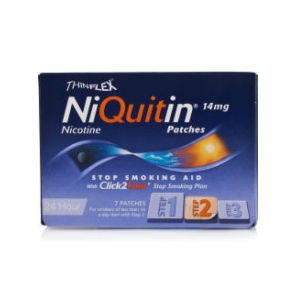 Image for Niquitin CQ 14mg (Step 2) patch 7 patches