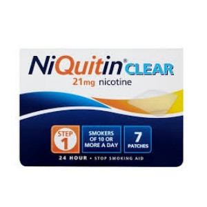 Image for NiQuitin CQ Clear 21 mg 7 Patches Step 1