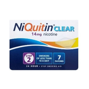 Image for NiQuitin CQ Clear 14 mg 7 Patches Step 2