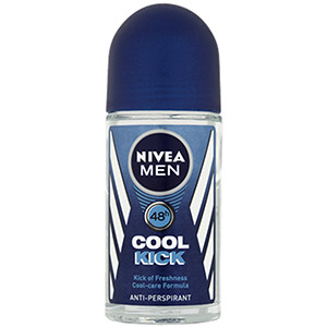 Image for Nivea Men 48hr Cool Kick Antiperspirant Roll On 50ml