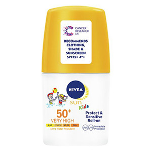 Image for Nivea Sun Kids Protect & Sensitive Roll on SPF50+ Roll On 50ml