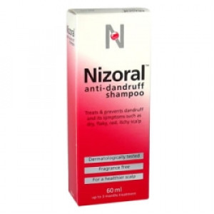 Image for Nizoral Dandruff Shampoo For Dry, Flaky, Itchy, Red Scalp - 60ml