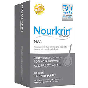 Image for Nourkrin For Men - Pack of 180 Hair Growth Tablets