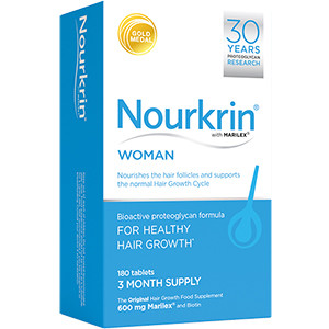 Image for Nourkrin for Woman - Pack of 180 Tablets