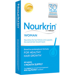 Image for Nourkrin for Woman - Pack of 60 Tablets