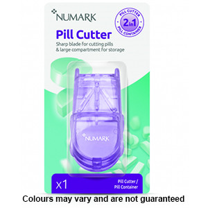 Image for Numark 2 in 1 Pill Cutter & Container