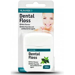 Image for Numark Dental Floss Mint Waxed 50m