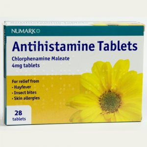 Image for Numark Antihistamine and Allergy Relief 4mg 28 Tablets