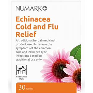 Image for Numark Echinacea Cold and Flu Relief 30 Tablets