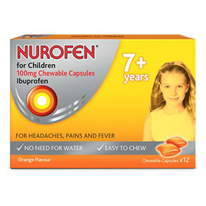 Image for Nurofen For Children Soft Chewable 12 Capsules