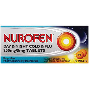 Image for Nurofen Day and Night Cold and Flu 16