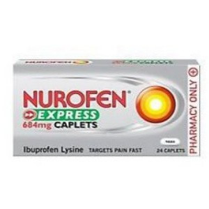 Image for Nurofen Express 684mg 24 Caplets