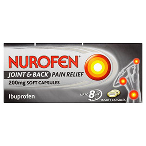 Image for Nurofen Joint & Back Pain Relief 16 Soft Capsules