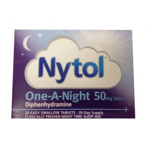Image for Nytol 50mg One a Night 20 Tablets