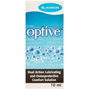 Image for Optive Lubricating Eye Drops 10ml