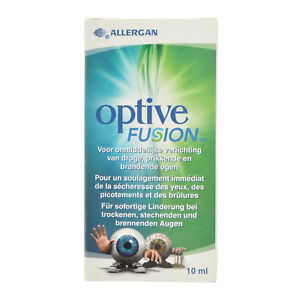 Image for Optive Fusion Eye Drops 10ml