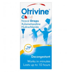 Otrivine Child Nasal Drops Xylometazoline Hydrochloride - Pack of 10ml