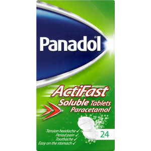 Image for Panadol Actifast 24 Soluble Tablets