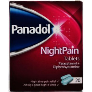 Image for Panadol Night 20 Tablets