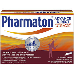 Image for Pharmaton Advance Direct 18 Sachets