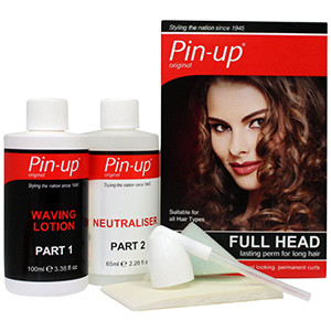 Pin-Up Full Head Lasting Perm
